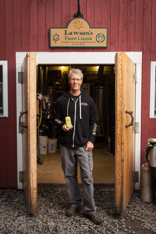 Sean Lawson, Brewmaster at Lawson's Finest Liquids Warren, VT Established in 2006