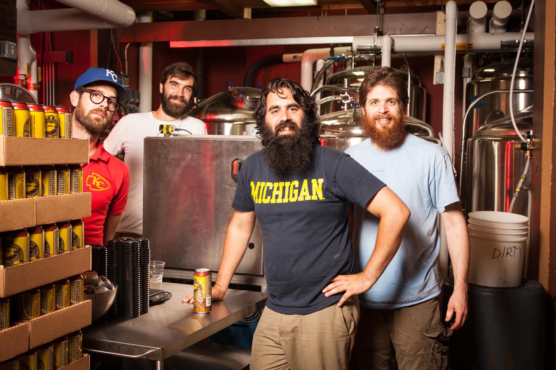 Hermit Thrush Brewery, Brattleboro, VT Established in 2014. Zach Svoboda, Brewmaster Chris Gagne, Avery Schwenk and Koby Schwayder