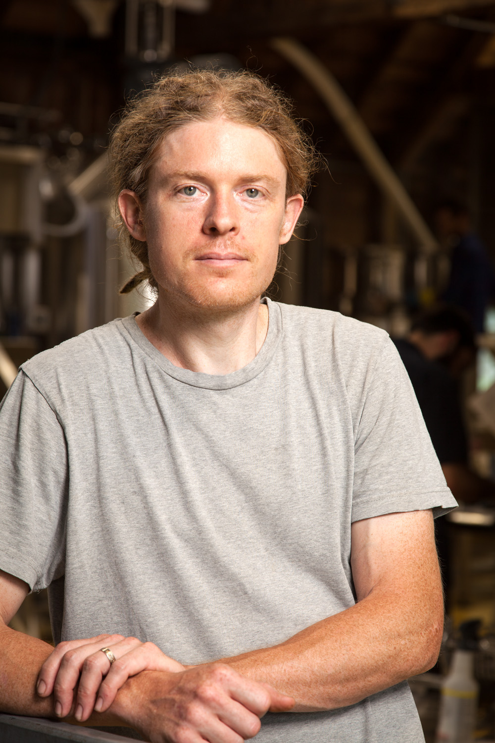 Matt Moore, Assistant Brewer at Moat Mountain Smokehouse and Brewing Co. North Conway, New Hampshire Established in 2000