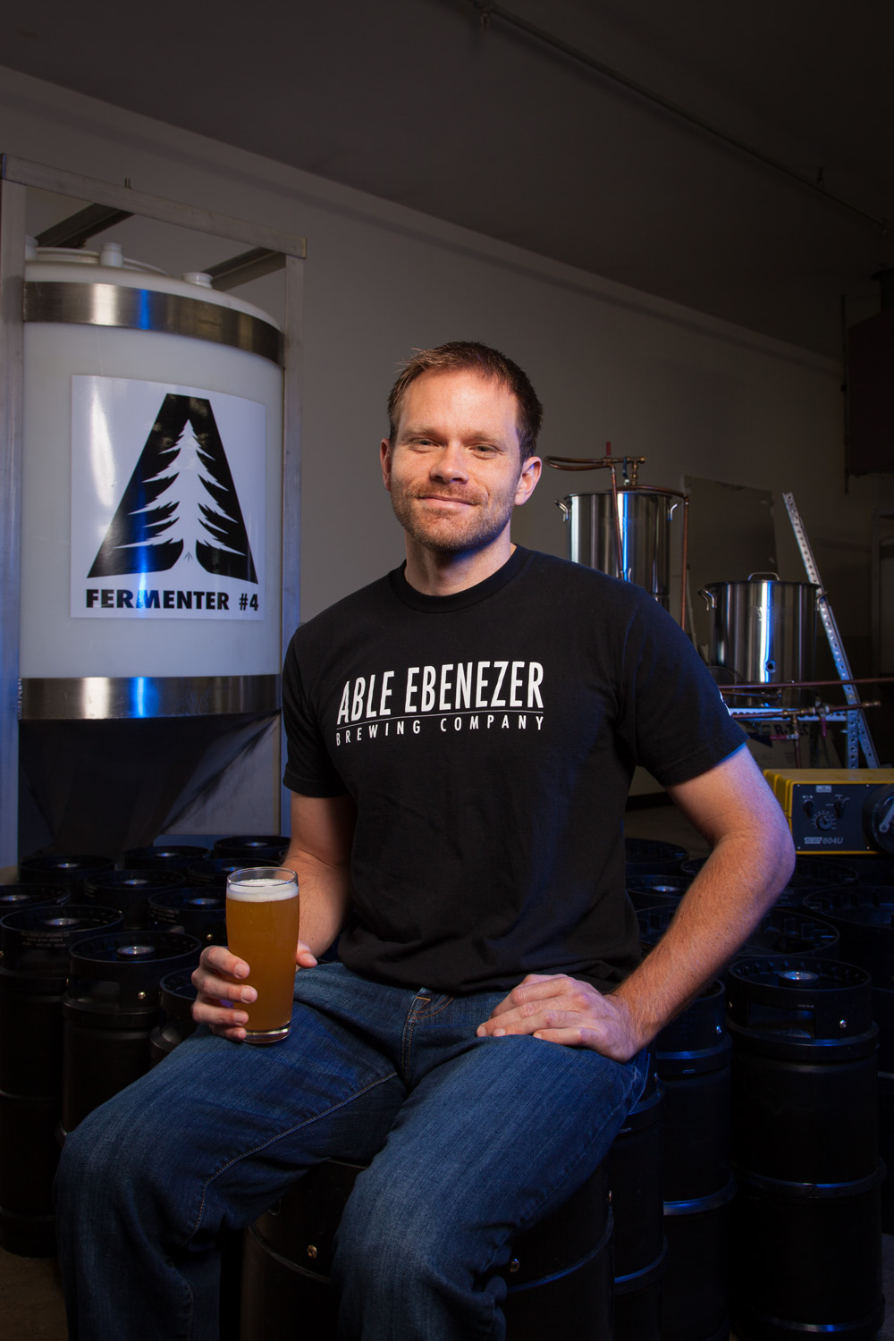 Mike Frizzelle, Head Brewer at Able Ebenezer Brewing Co. Merrimack, NH Established in 2013