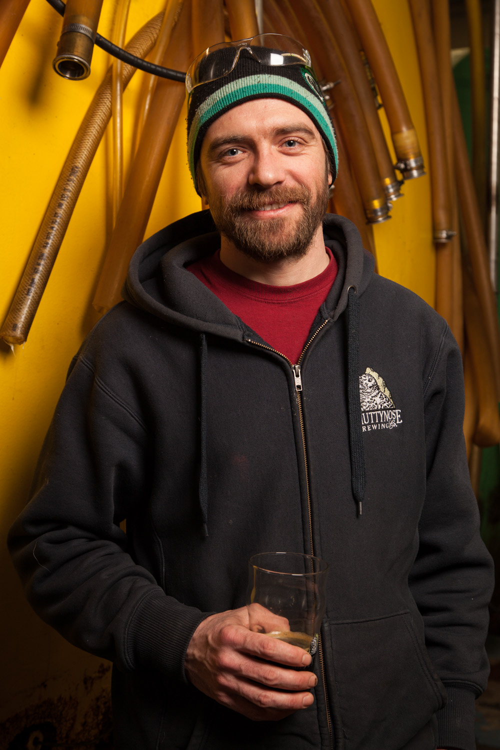 Tyson Demers, Brewer at Smuttlabs Portsmouth, NH Established in 1994