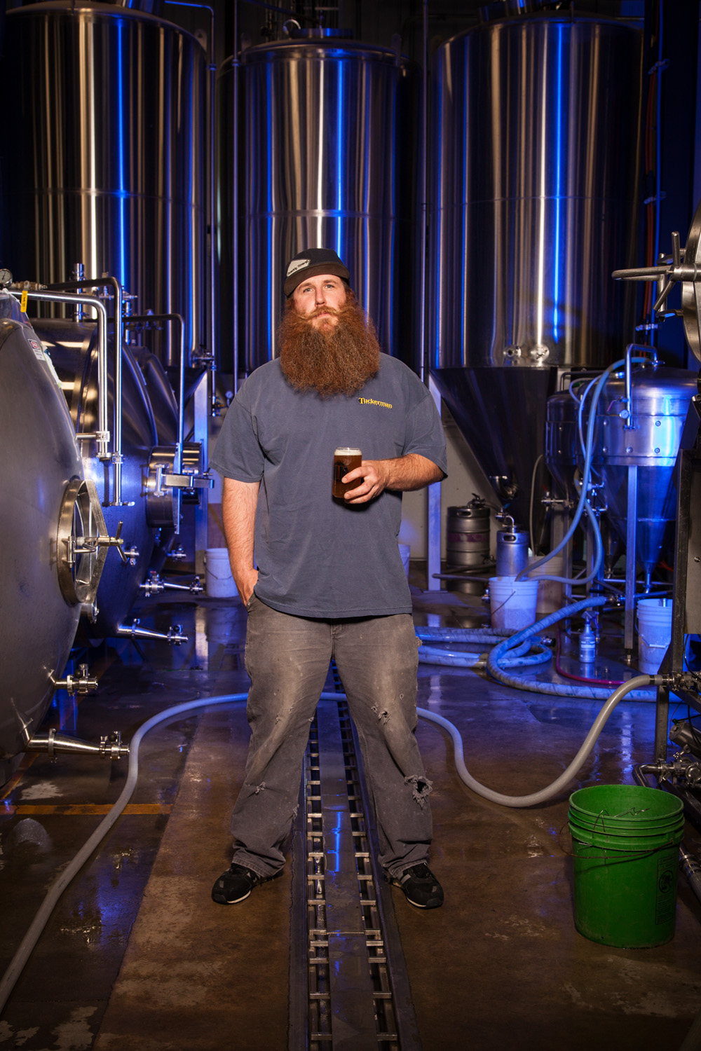 Seth Reidy, Head Brewer at Tuckerman Brewing Co. Conway, NH Established in 1998