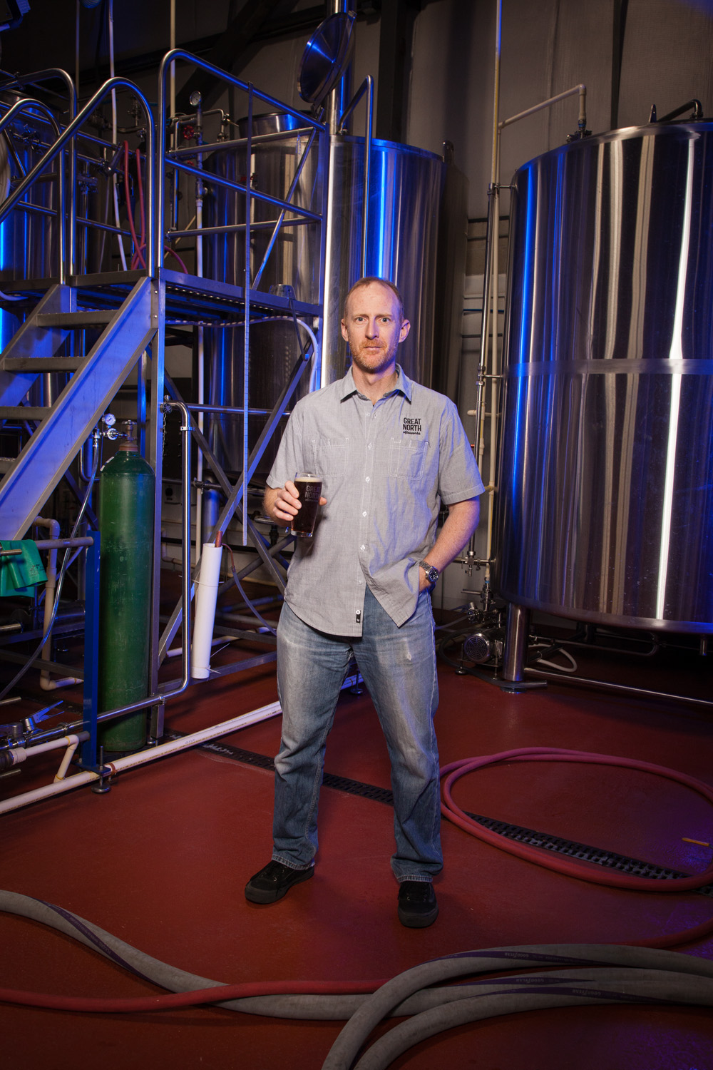 Rob North, Brewmaster Great North Aleworks Manchester, NH Established in 2015