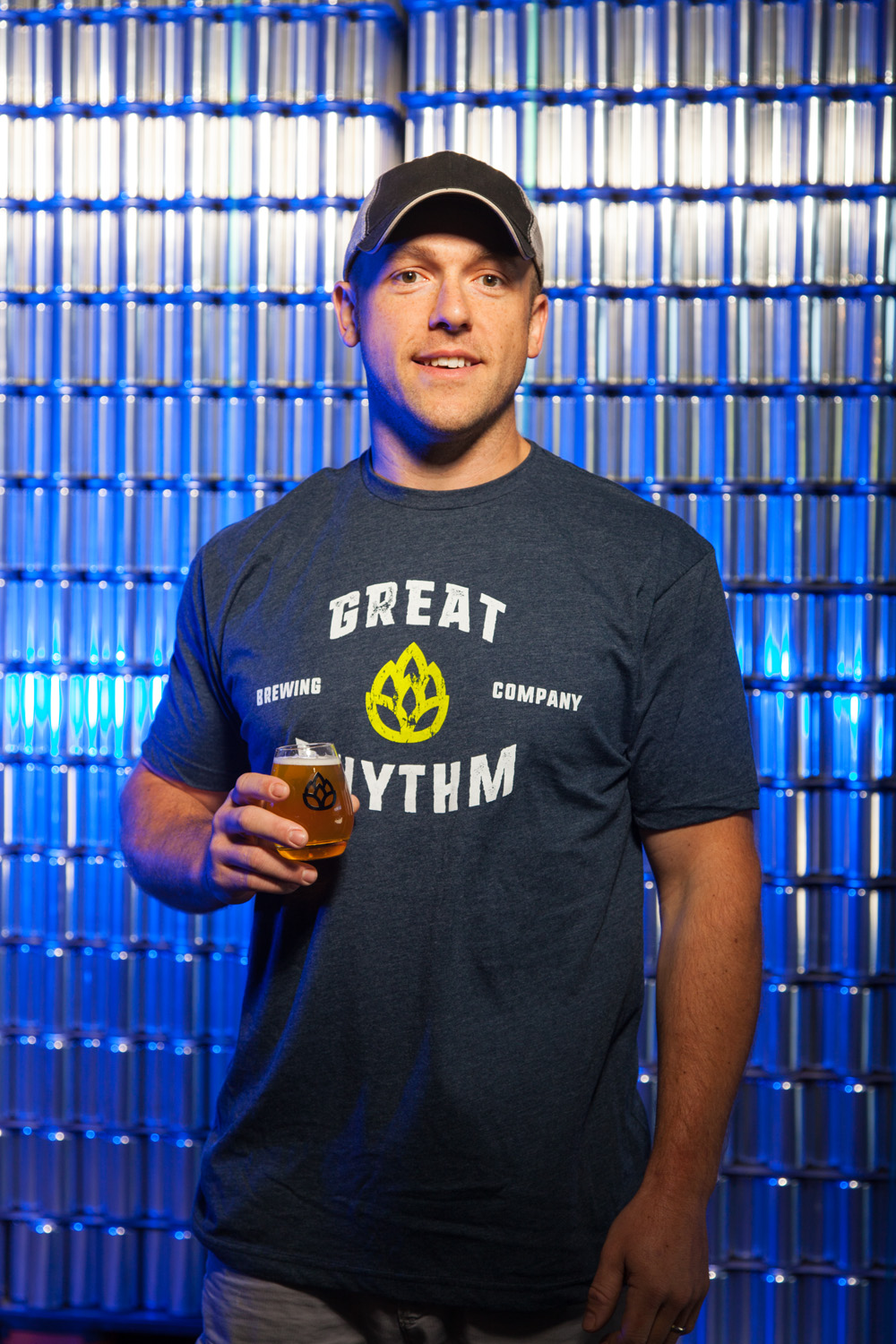 Scott Thornton, Brewmaster at Great Rhythm Brewing Co. Portsmouth, NH Established in 2012