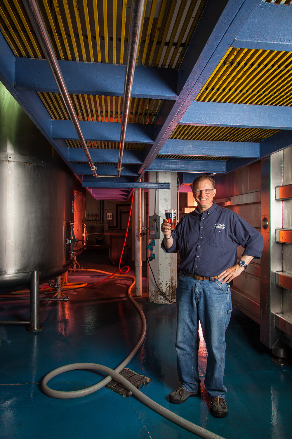 Bruce Elam, Brewer Shipyard Brewing Co. Portland, ME Established in 1994