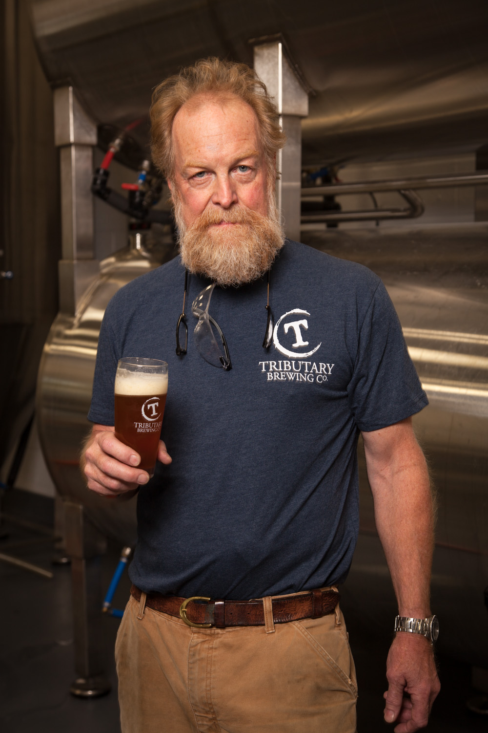 Tod Mott, Brewmaster Tributary Brewing Co. Kittery, ME Established in 2014