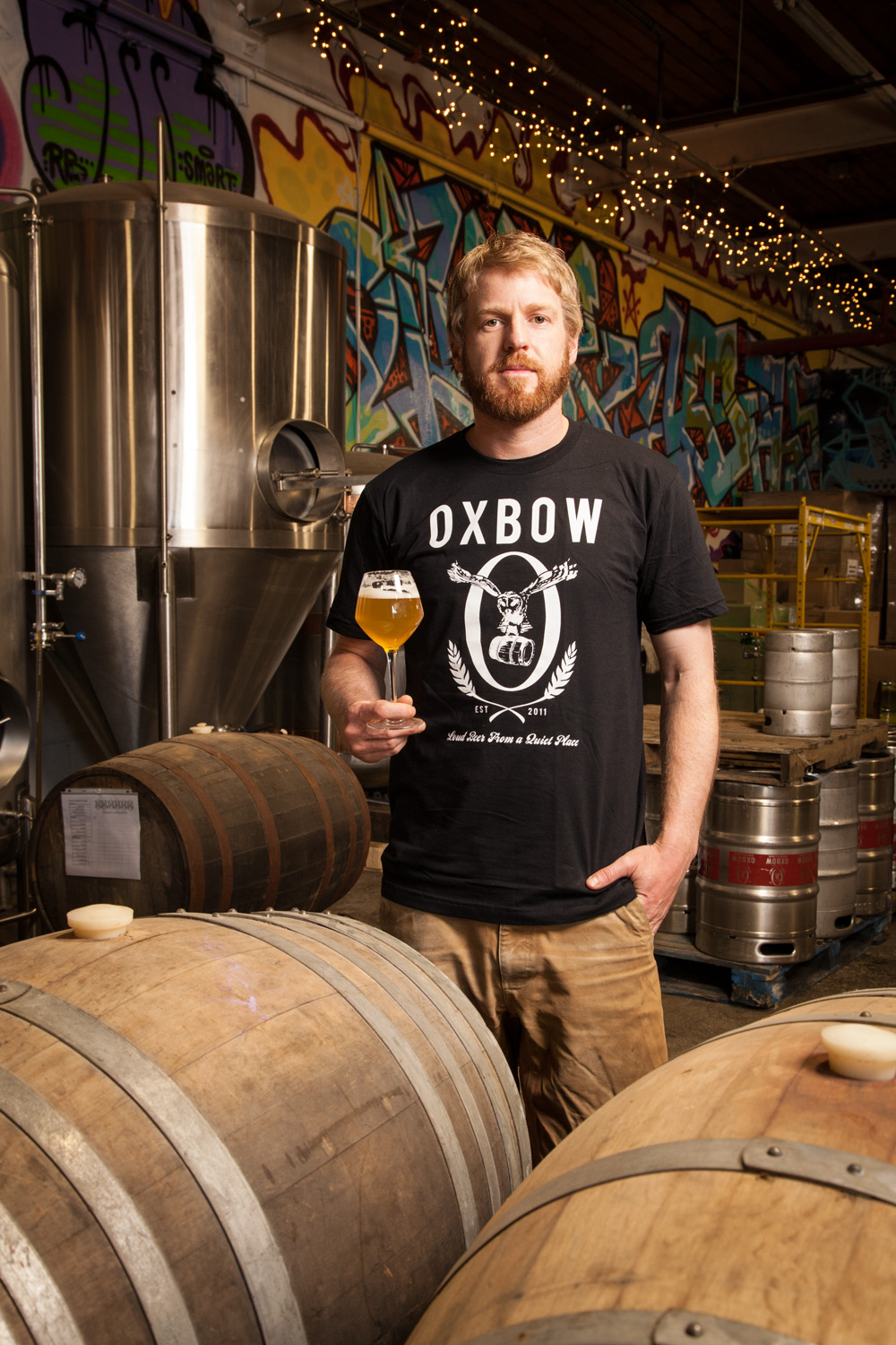 Tim Adams, Master Blender Oxbow Blending and Bottling Portland, ME Established in 2011