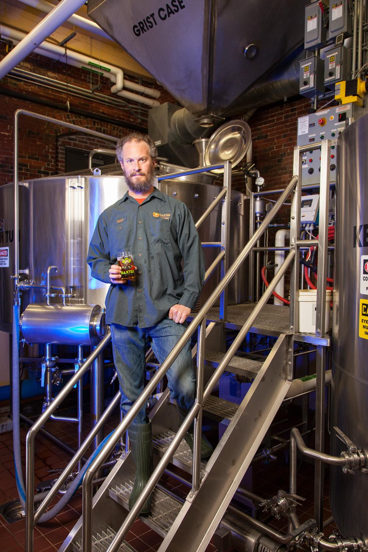 Geoff Newman, Brewer Baxter Brewing Co. Lewiston, ME Established in 2010