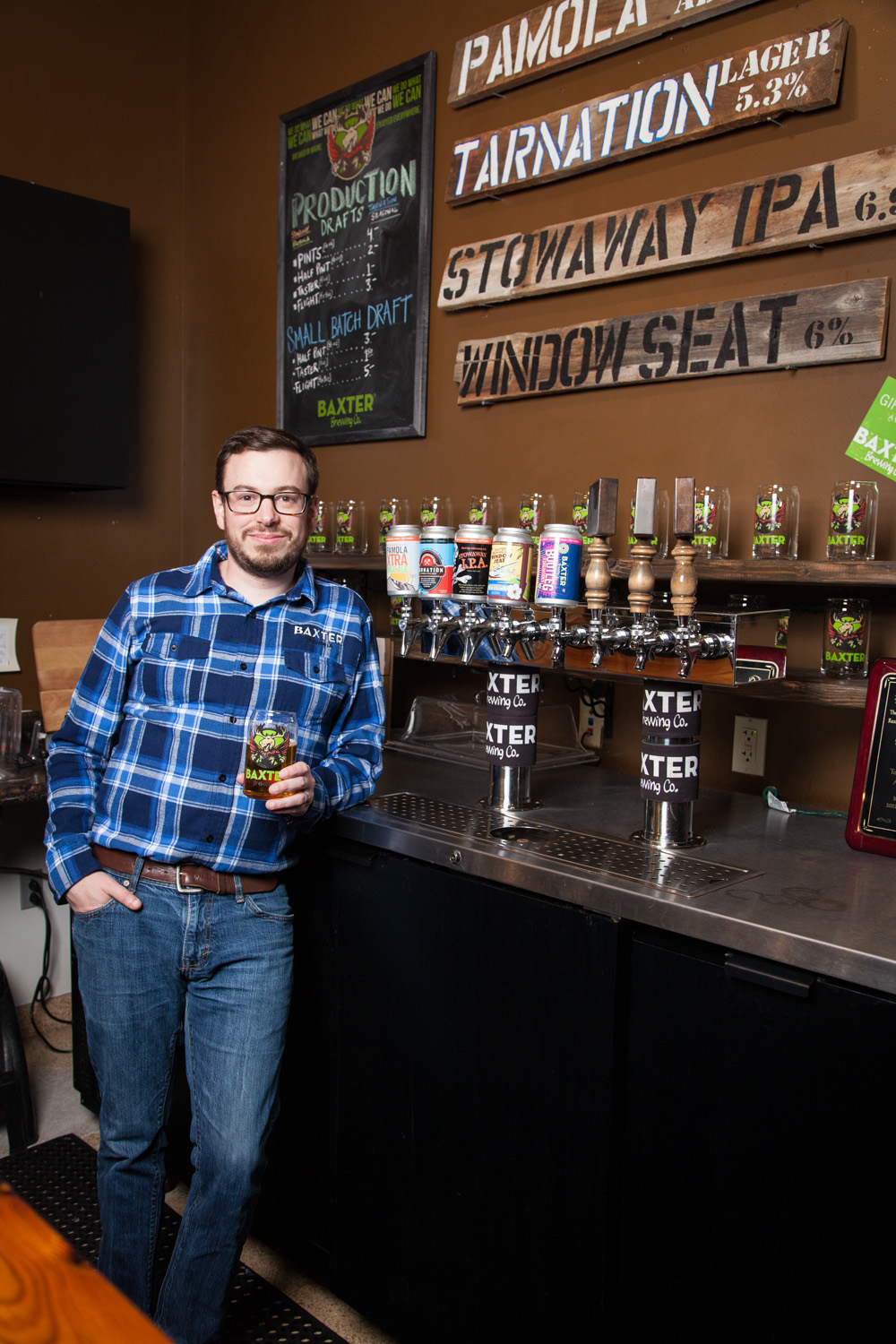 Luke Livingston, Founder and CEO Baxter Brewing Co. Lewiston, ME Established in 2010