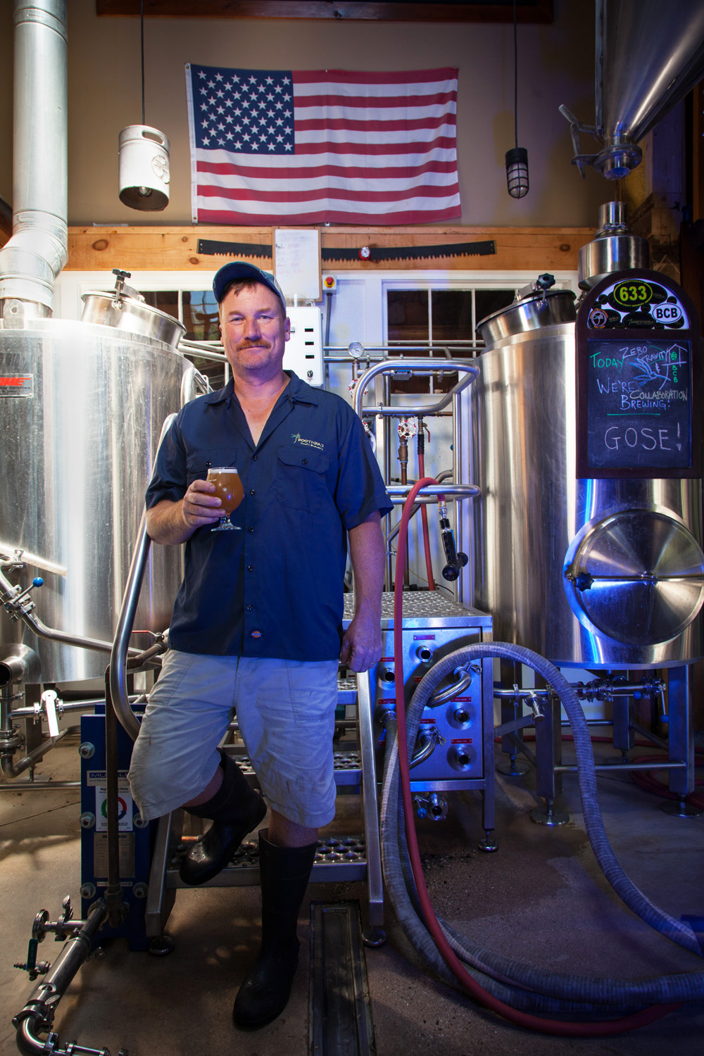 Win Mitchell, Brewmaster Boothbay Craft Brewery Boothbay, ME Established in 2009
