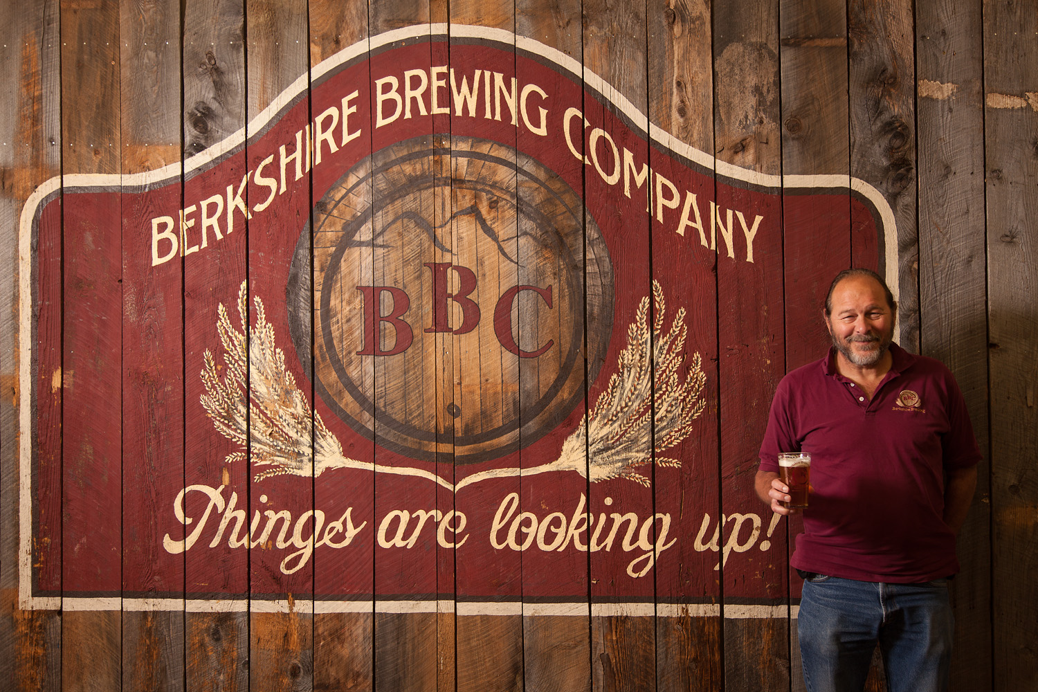 Gary Bogoff, President and Brewmaster Berkshire Brewing Co. So. Deerfield, MA Established in 1994