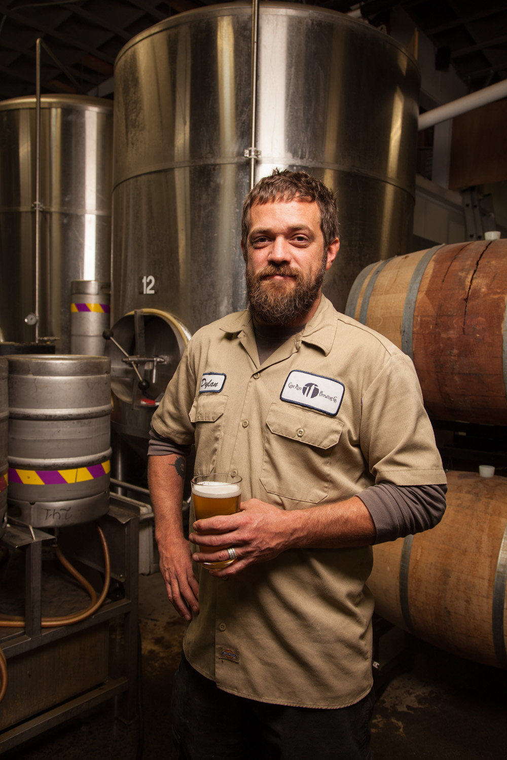 Dylan L Abbe Lindquist, Head Brewer Cape Ann Brewing Co. Gloucester, MA Established in 2004