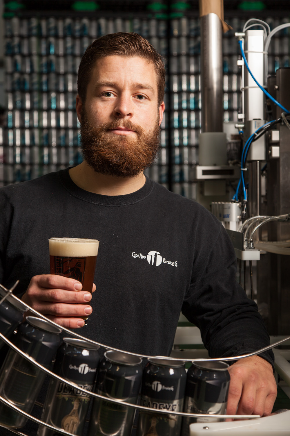 Brian Fines, Brewer Cape Ann Brewing Co. Gloucester, MA Established in 2004