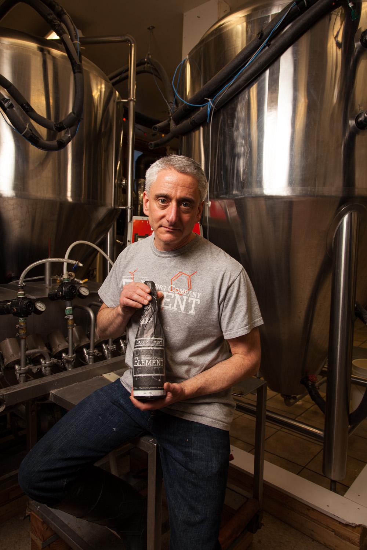 Dan Kramer, Brewmaster Element Brewing Co. Millers Falls MA Established in 2009