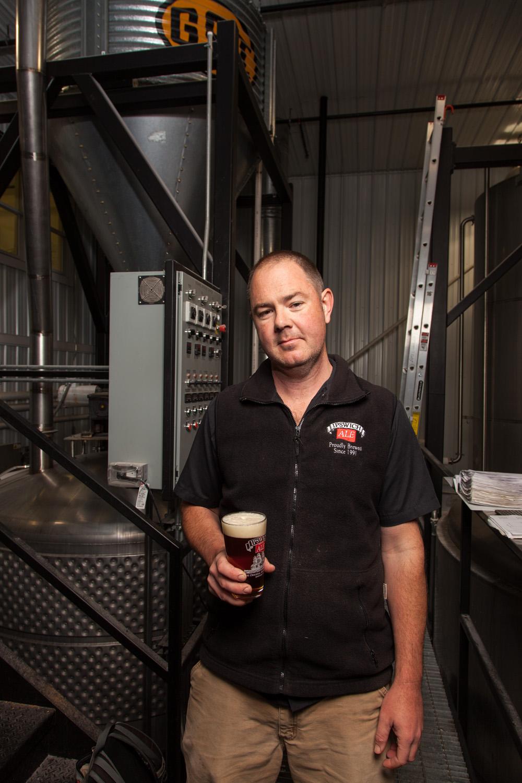 Dan Lipke, Head Brewer Ipswich Ale Brewery Ipswich, MA Established in 1991