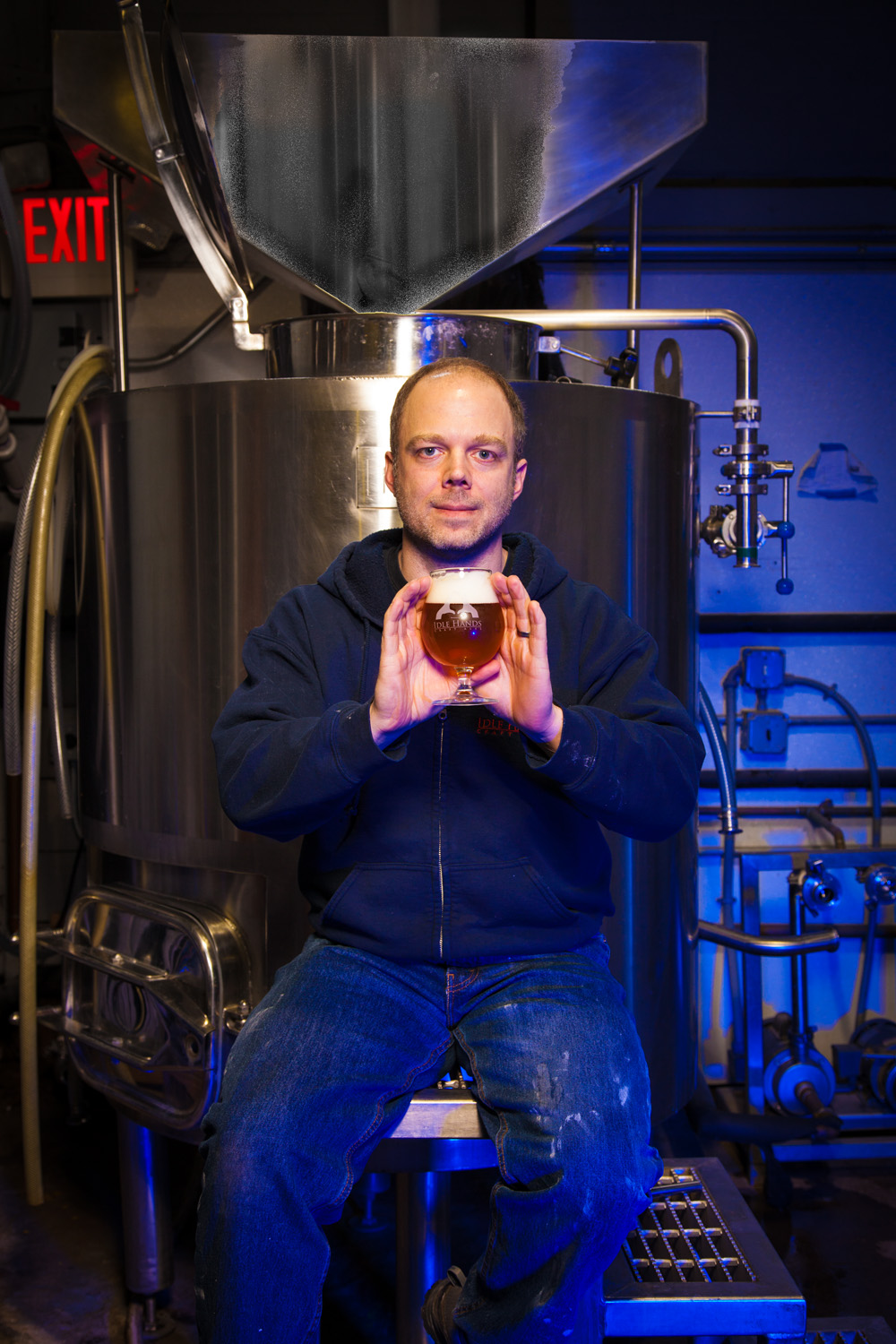 Christopher Tkah, Brewmaster Idle Hands brewing Co. Malden, MA Established in 2011