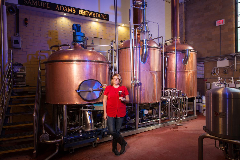 Jennifer Glanville, Brewer Samuel Adams Boston, MA Established in 1984