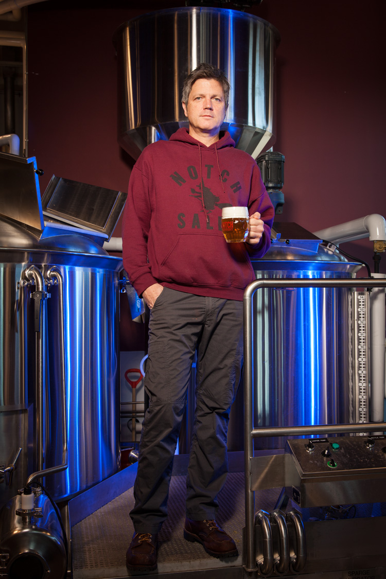 Chris Lohring, Brewmaster at Notch Brewing in Salem, MA Established in 2010