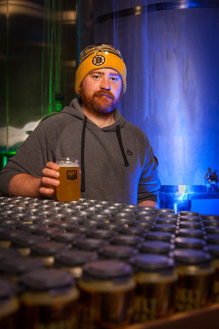 Conor MacInnis, Cellar Manager / Assistant Brewer Newburyport Brewing Co. Newburyport, MA Established 2012