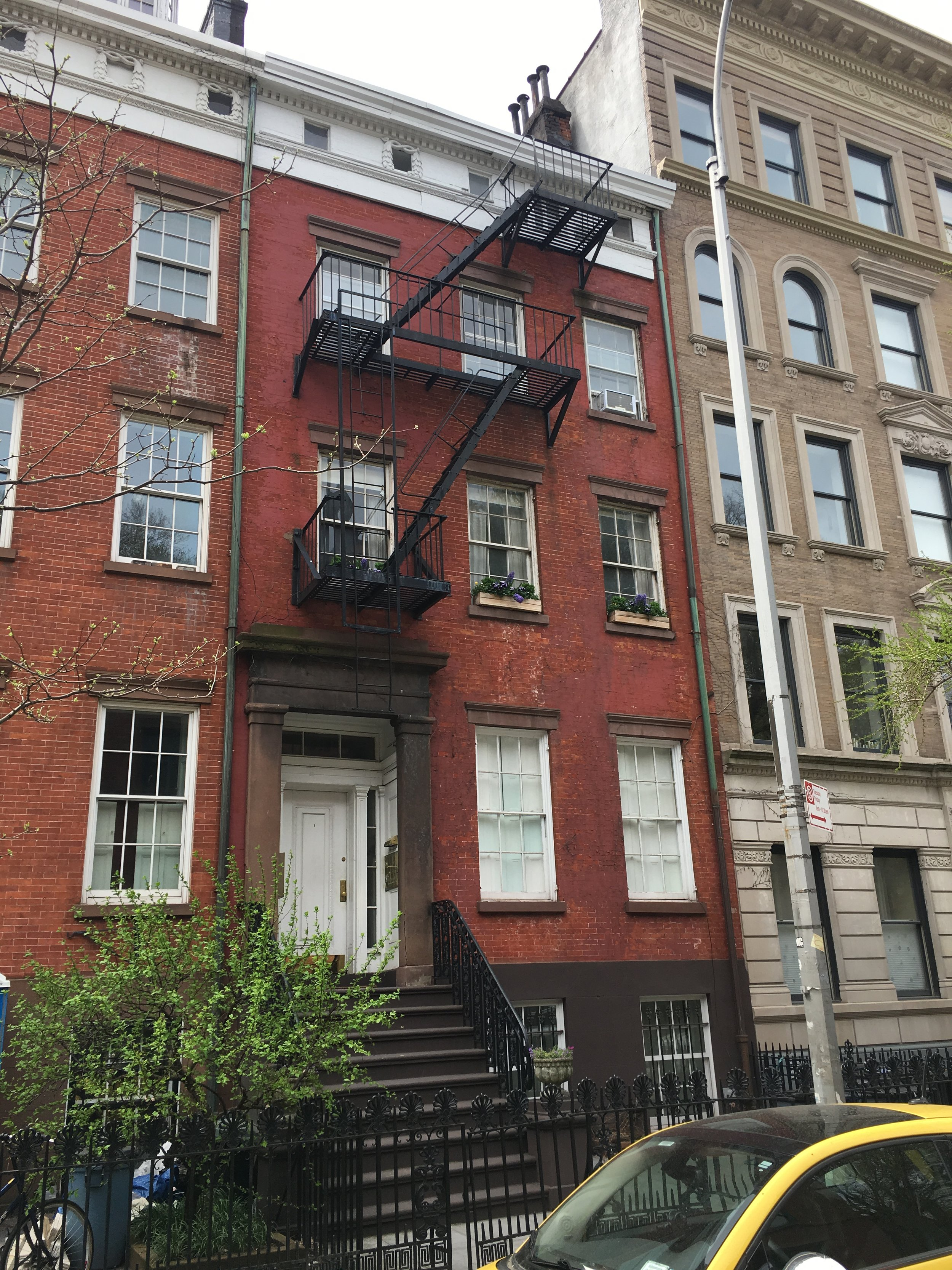 418 West 20th Street - Architect:James Vincent Czajka4 story residential building