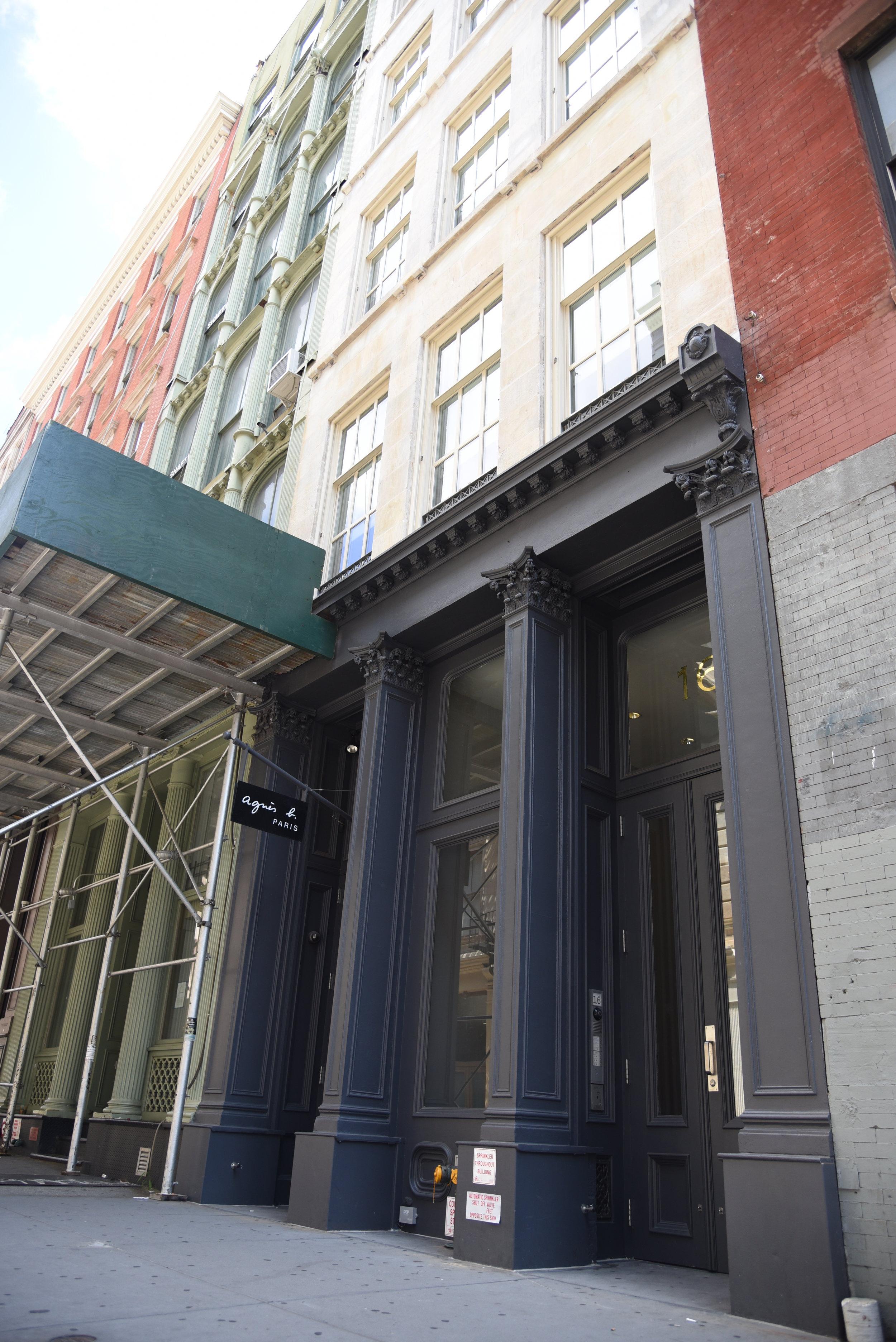 16 Mercer Street - Architect: CR Studio5 story Joint Living-Work Quarters building
