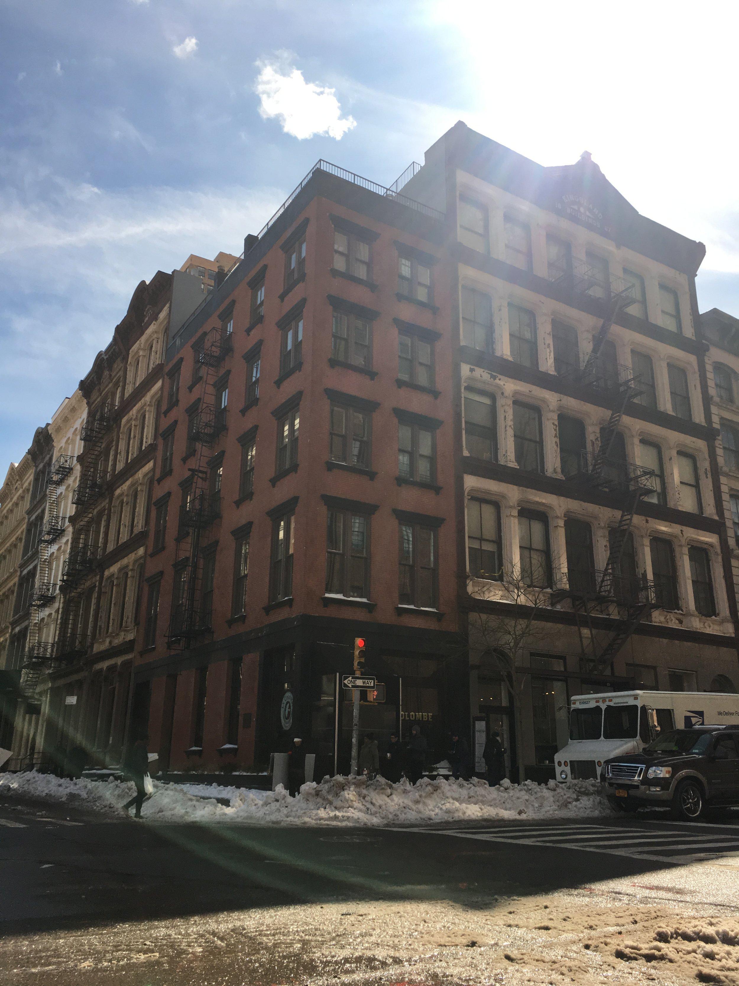 319 Church Street - Architect:Gianni Intili5 story mixed use building