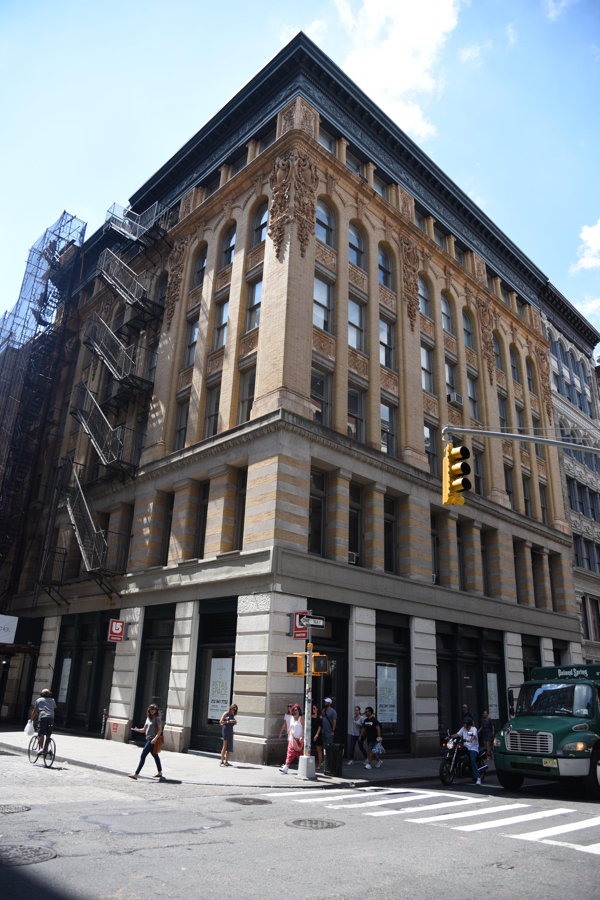 93 Mercer Street - Architect:DHD, LLC6 story Joint Living-Work Quarters building