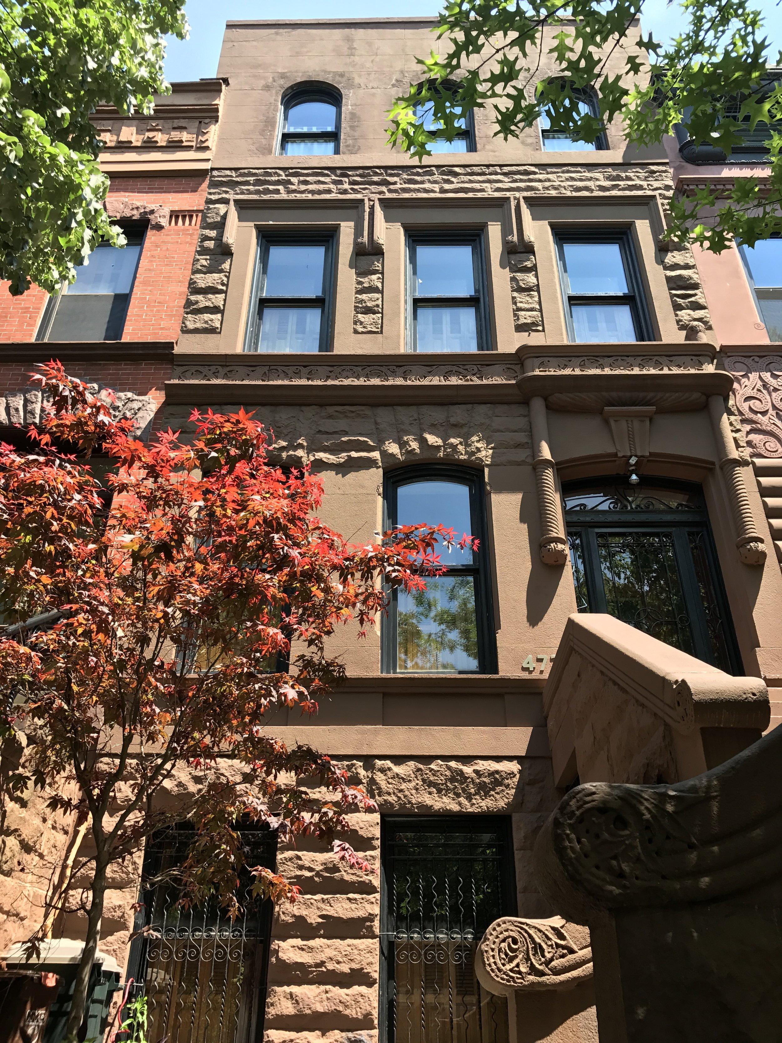 473 14th Street, Brooklyn - Timothy Lindman Architect4 story single family residence