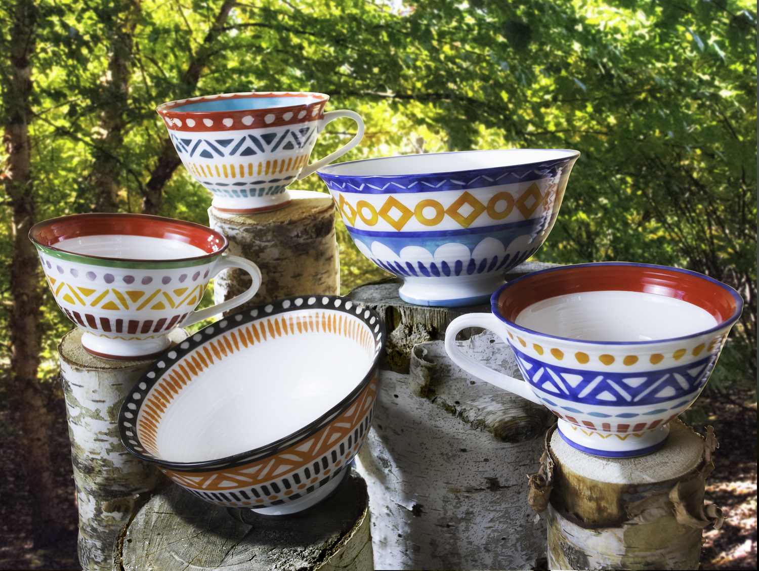 Bowls and Mugs for Advertising