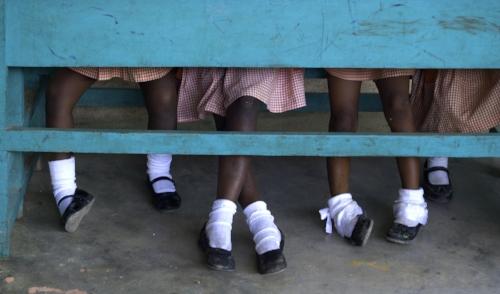 Photo by diane metz . Haiti - Girls School.