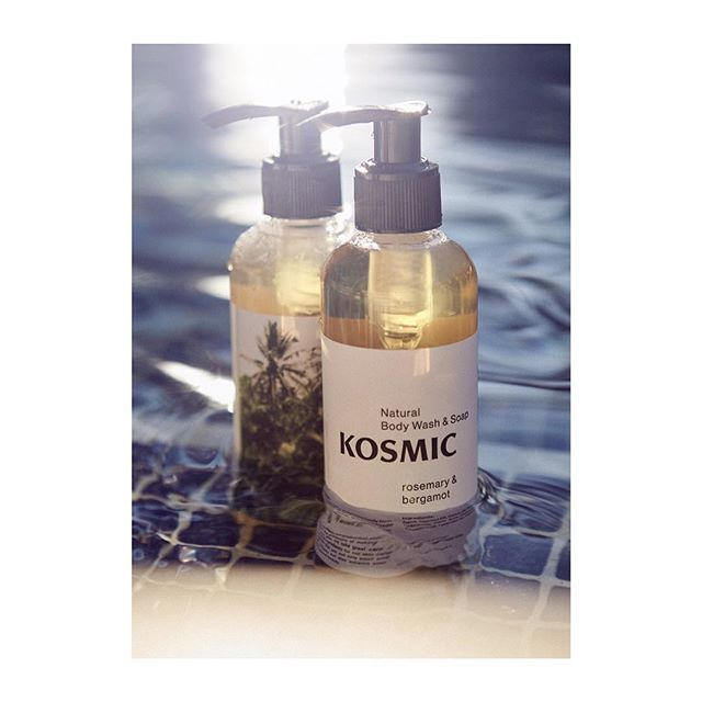 Body wash and soap going for a swim 🐳 #naturalcosmetics #natural #fair #ethical #kosmic #fairtrade #handmade #bali #noparabens #nosynthetics #rosemary #bergamot #naturelovers #greencosmetics