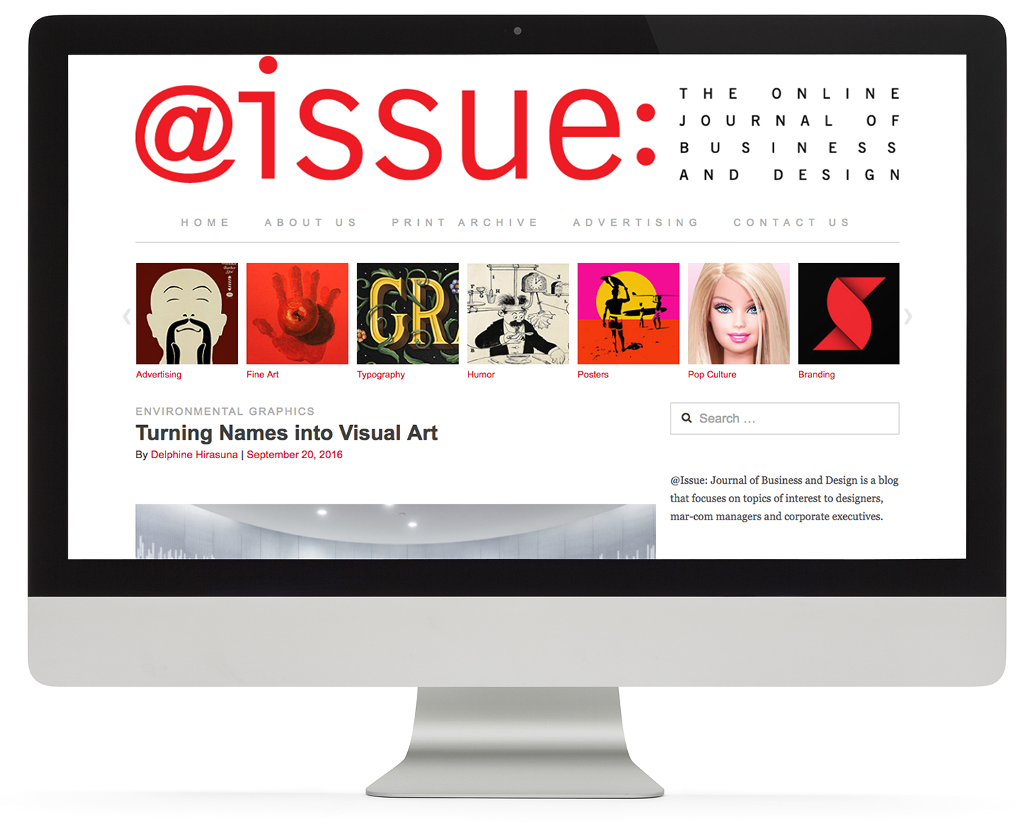 @issue website