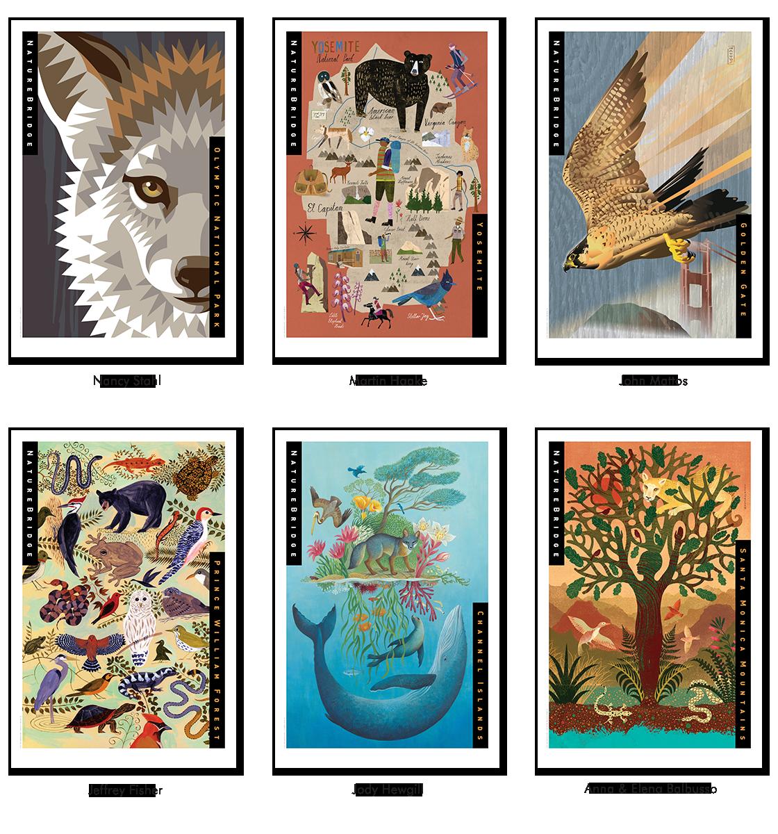 NatureBridge Limited Edition Framed Prints 2017.