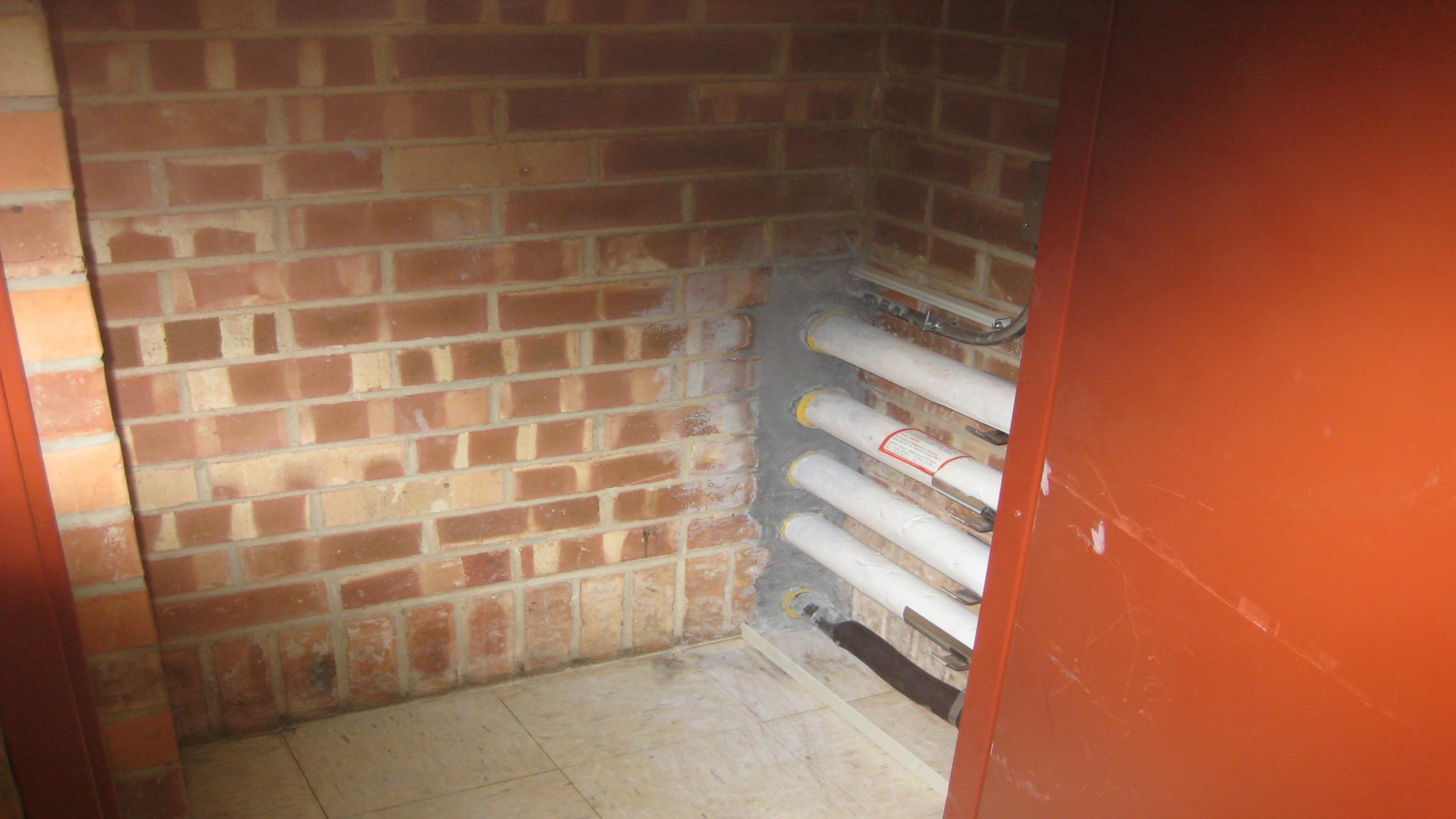 Fire Mortar Installation (#2)