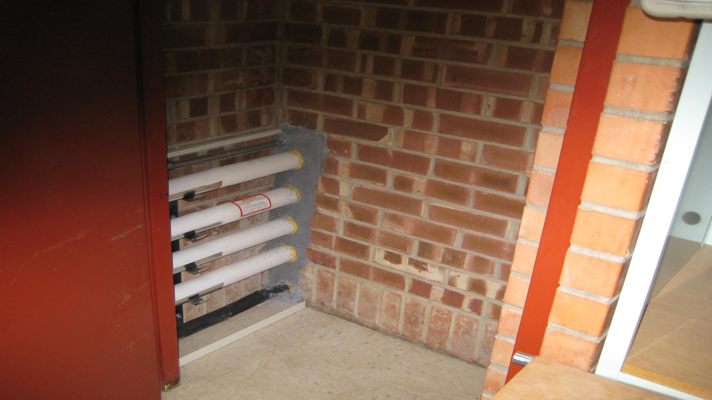 Fire Mortar Installation (#3)