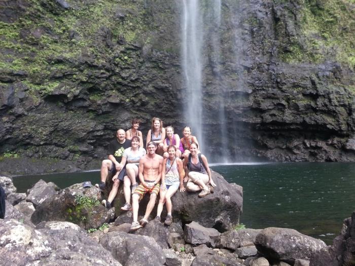 Inaugural retreat, Kauai