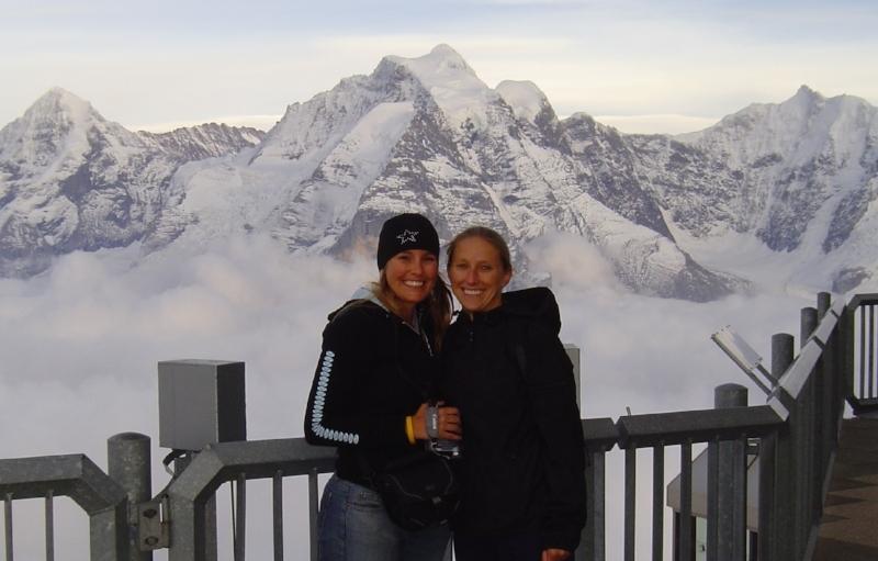 Interlaken, Switzerland with my sis