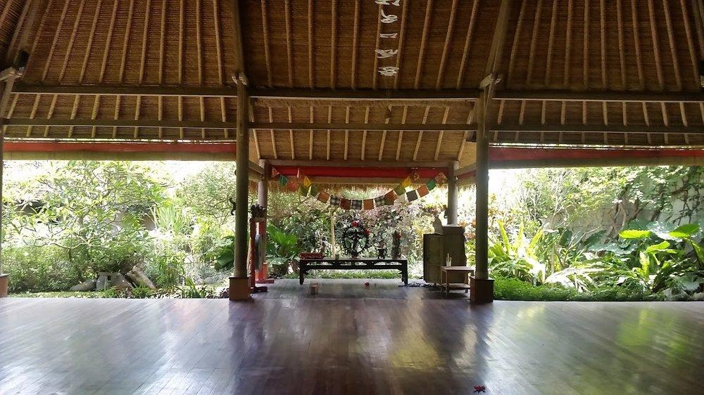 Yoga studio in Balinese EcoVillage