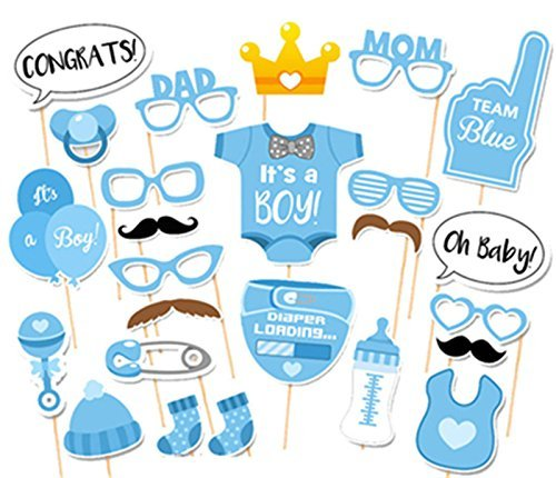 Baby Shower Boy Props