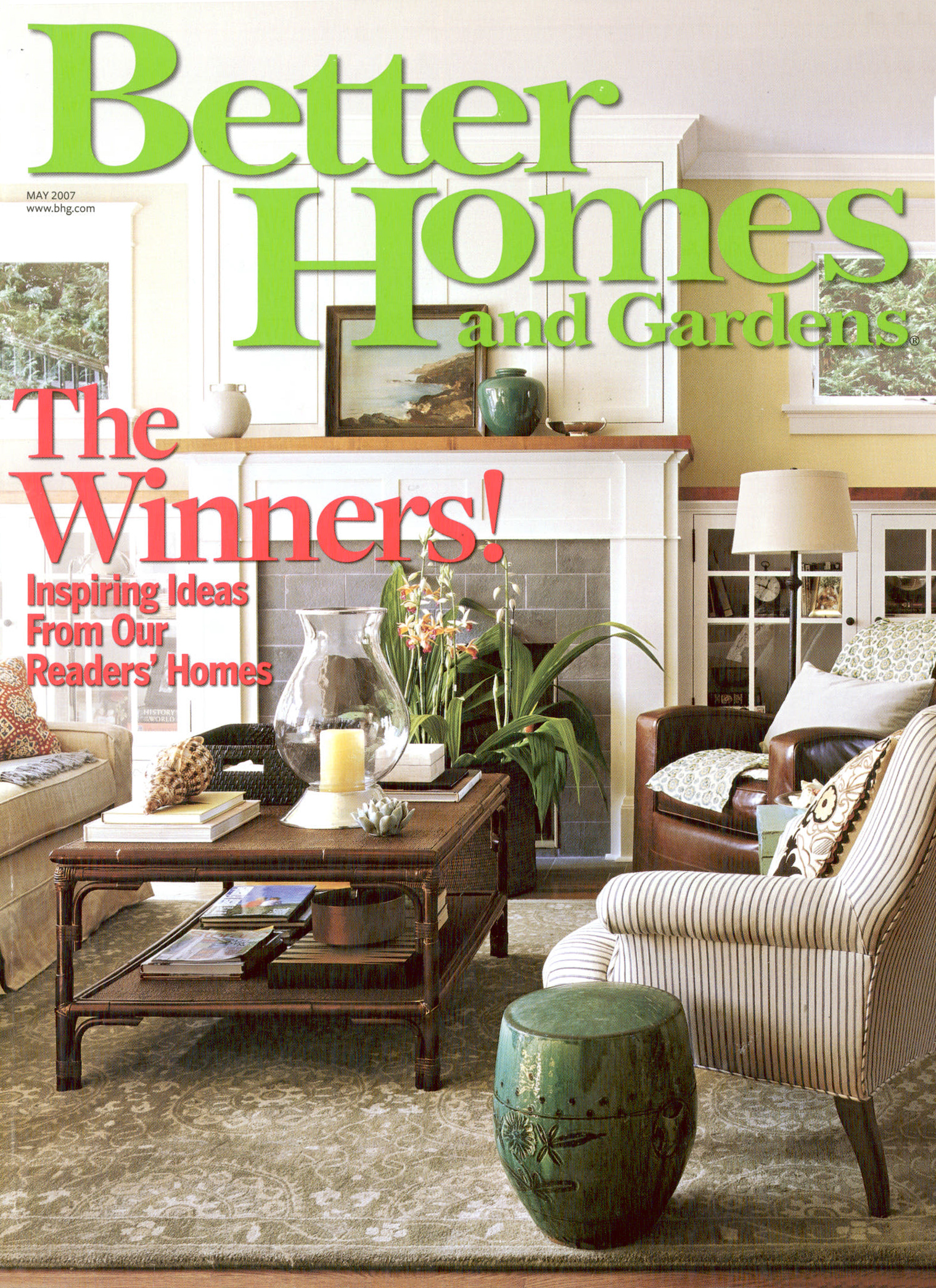 Better Homes and Garden   May 2007