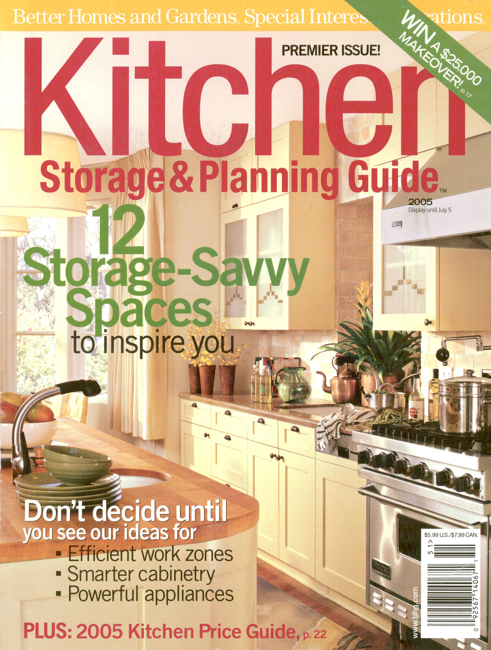 Better Homes and Garden   July 2005