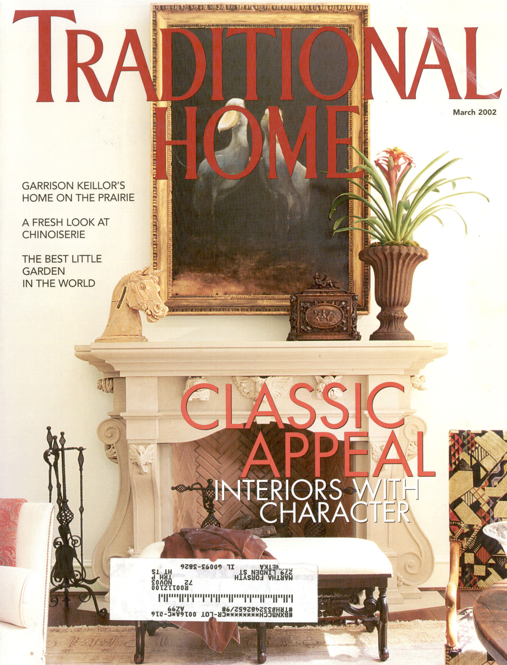 Traditional Home   March 2012