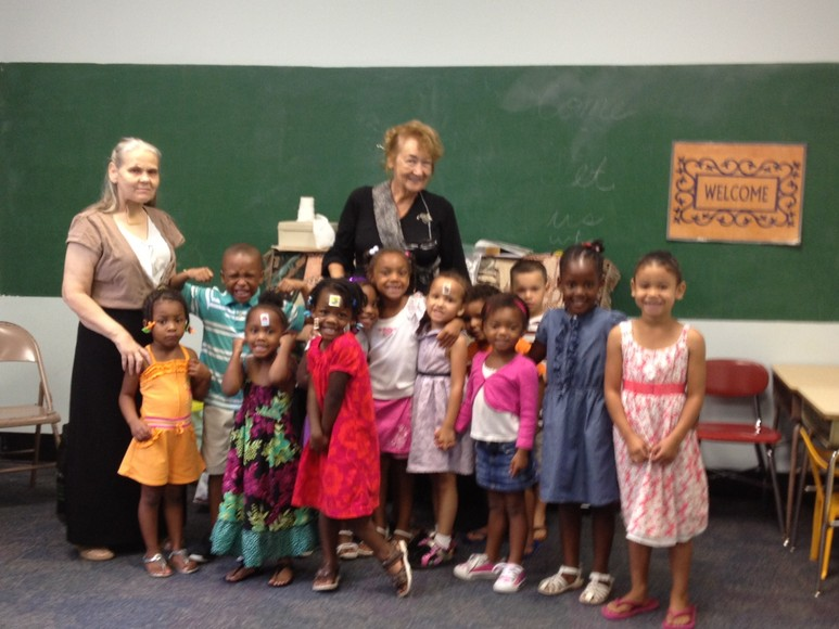 Toddler Sunday School Class