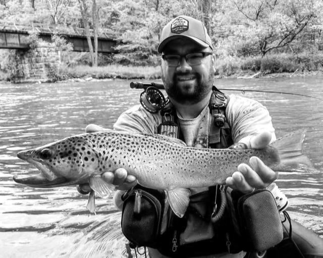 """Jason Myers  Jason is an avid outdoorsman, enjoying the beautiful woods and backroad streams of rural Pennsylvania since childhood. From the woods hunting, to the streams and waters fishing, it's in the outdoors with family and friends Jason (Jake) finds his dose of refreshing peace and quiet. He enjoys the tactical approach of fishing the small, wild mountain streams of Northern PA, as well as the large, open waters of the big Pine Creek that flows through the majestic PA Grand Canyon. Over the years he has fished so many of the great waters Pennsylvania has to offer, as well as the New York salmon, brown and steelhead run excitement. No matter where it is, the outdoors has long been the place Jake frequents to gather his thoughts and relax with his Creator. """"It's what you """"catch"""" out of the water, not in the water that makes a difference"""" he likes to say. As a pastor and Bible teacher, Jake loves to see people learn. Tying flies and fly fishing is more than a business or hobby to him. He thinks """"Sometimes the """"industry"""" gets in our way of seeing the bigger picture of this great sport we enjoy and draw so much refreshing energy from."""" Jake enjoys introducing people to the sport of fly fishing and fly tying. He is active in his community teaching various school groups and adults the art of fly tying/fishing, as well as getting folks on the water for the first time. He and his brother Josh own and operate Myers Flies in York County Pennsylvania.  Website:  MyersFlies.com   FaceBook:  Myers Flies   Instagram:  @myersflies   YouTube:  Myers Flies Fly Fishing"""