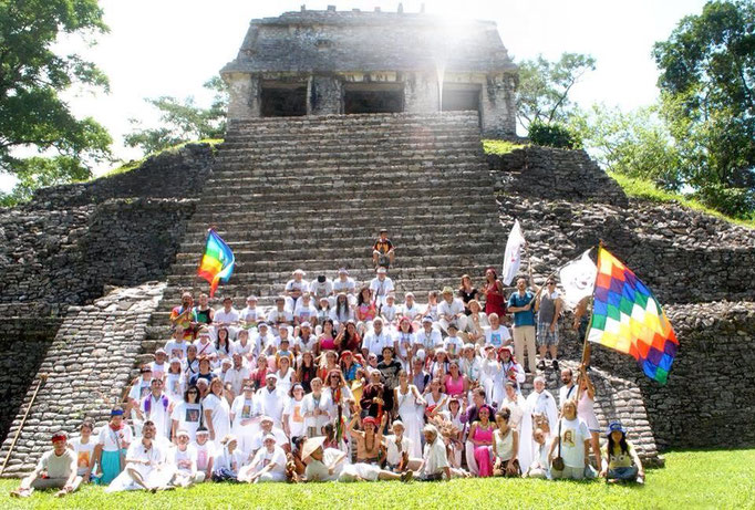 Temple of Inscriptions, Palenque, Returning Home