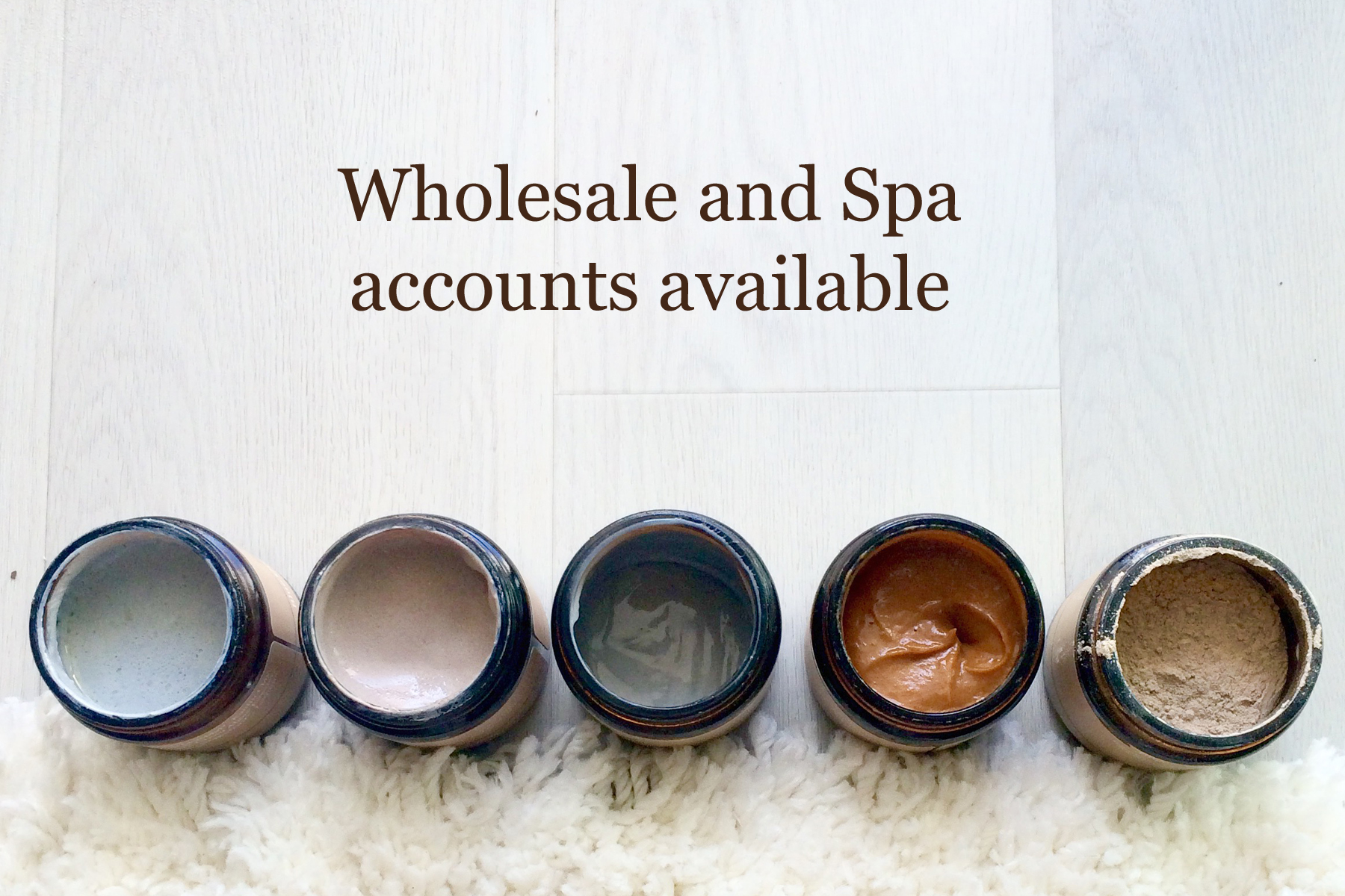 We work with independent estheticians, spas, and boutique retail stores (online and in store).