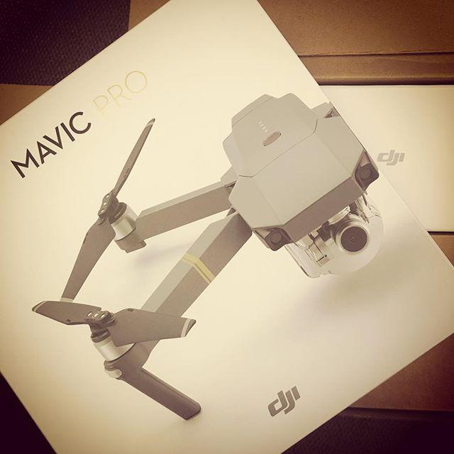 Finally it's here #mavicpro #DJI #drone #fitsinmypocket #ten80media