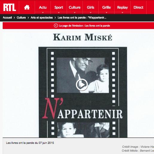 RTL - LES LIVRES ONT LA PAROLE