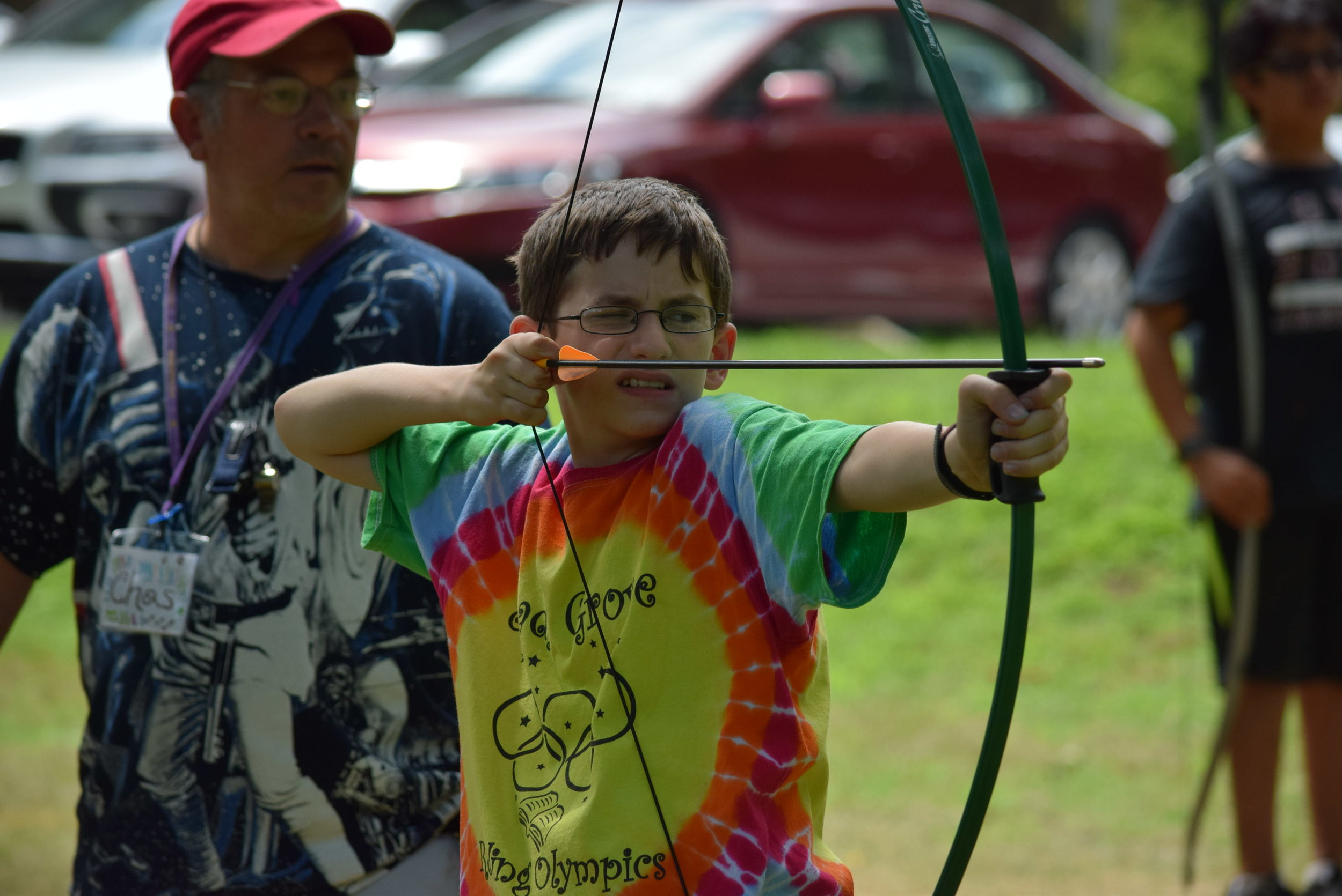 Archery (9-15 year old campers)