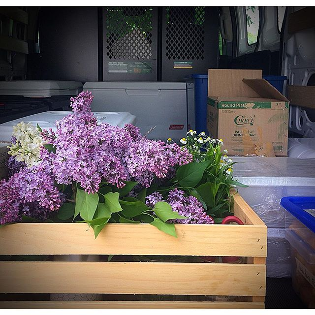 Smells like the season is starting.  #maine #mainecatering #mainecaterer